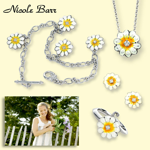 Nicole Barr Daisy Jewelry Collection