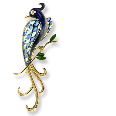 Example of Champleve Enamel by Nicole Barr