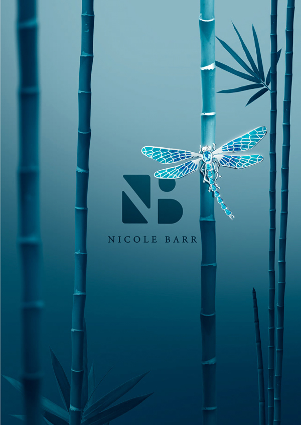 Dragonfly jewelry by Nicole Barr