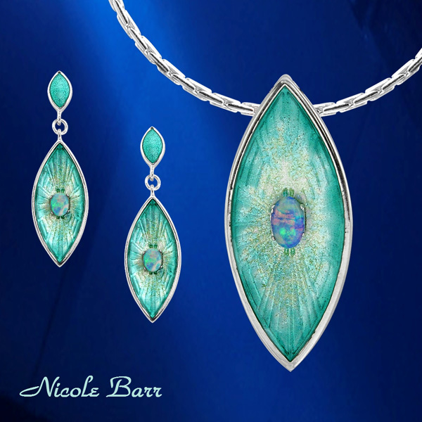 Nicole Barr Opal and Silver jewelry