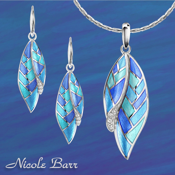 BLUE AND SILVER JEWELRY BY NICOLE BARR
