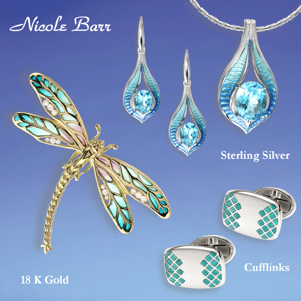 Nicole Barr Jewelry and Cufflinks