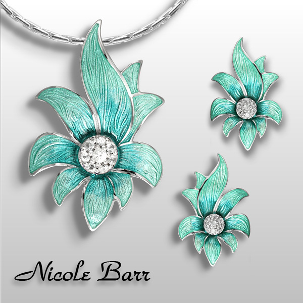 nicole barr floral jewelry