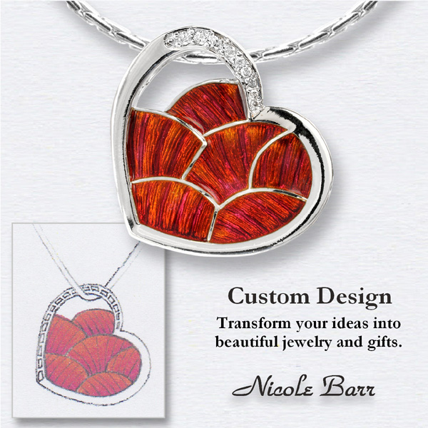 Custom Jewelry Design by Nicole Barr