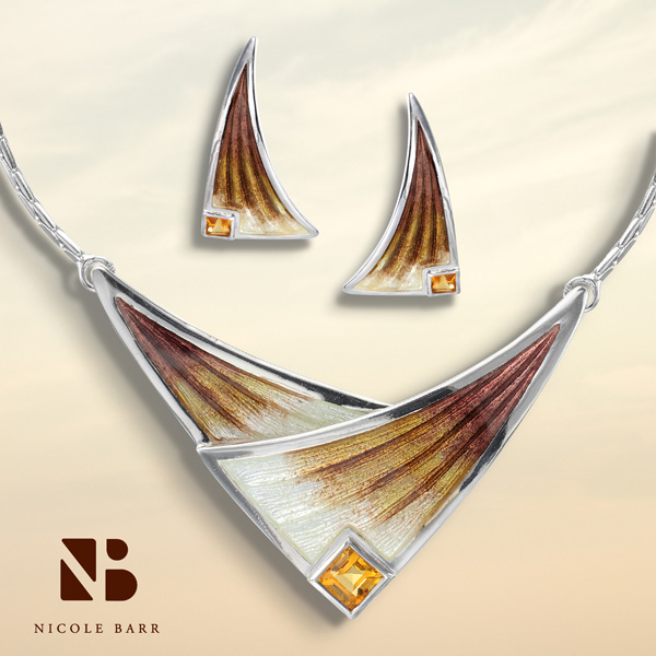 Nicole Barr Citrine Jewelry - November Birthstones