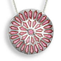 York Cathedral Rose Window Pendant