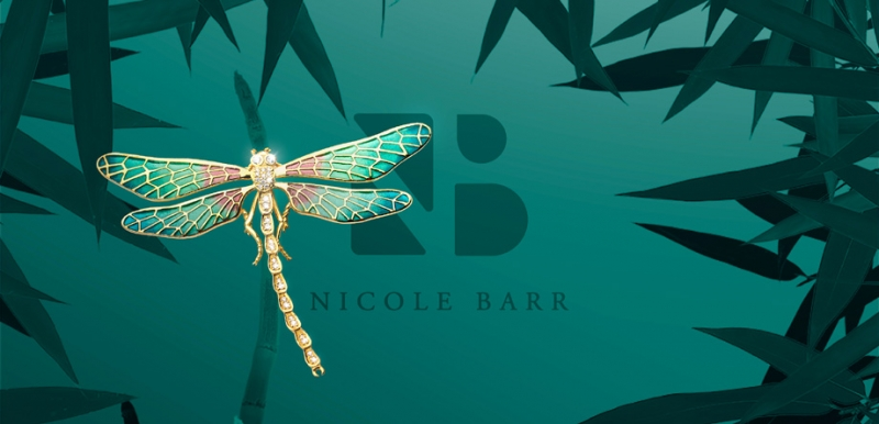 Nicole Barr's 18kt Gold Collection