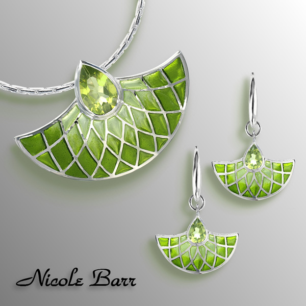 Nicole Barr Green Jewelry