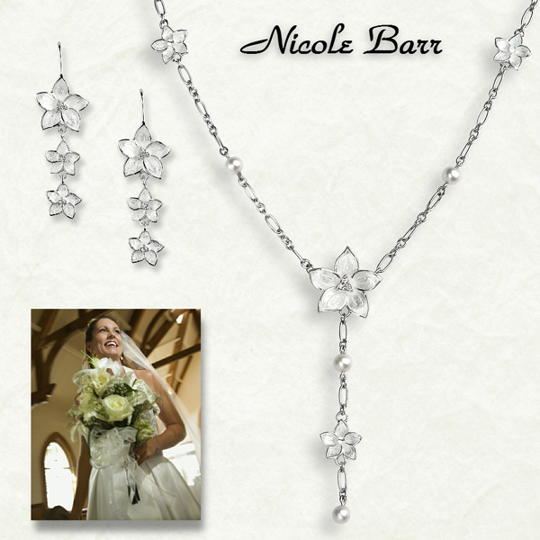 bridal jewelry by Nicole Barr