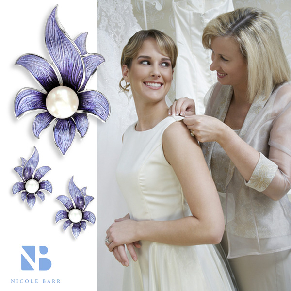 Nicole Barr Flower Jewelry for Mother's Day